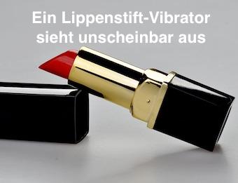Ein Lippenstift-Vibrator sieht unscheinbar aus