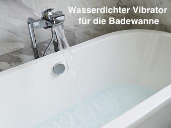 Wasserdichter Vibrator für die Badewanne